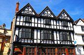 Tudor building, Tewkesbury.