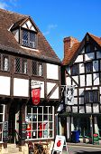 Cafe in town centre, Tewkesbury.