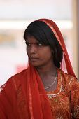 Portrait Of An Indian Girl