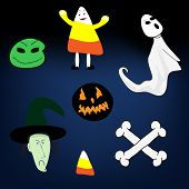 Halloween Vector-Spooky Icons