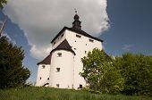 stock photo of banska  - The New Castle of Banska Stiavnica town Slovakia  - JPG