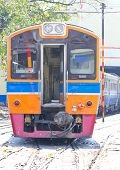 Diesel Locomotive Train.