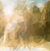 Vector Polygonal Background - Triangular Design In Desert Sand