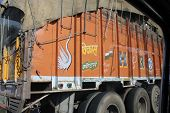 Traditionally Decorated Indian Trucks