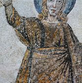 Mosaics of Aula theodoriene meridionale, city of Aquileia, Italy, by anonymous artist