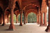 Red Fort, colonnade detail