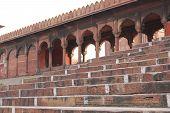 Jama Masjid Of Delhi staircase