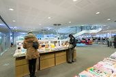 KAOHSIUNG - TAIWAN 19th DEC 2014 : New opening modern library in Kaohsiung, Taiwan, Asia on 19th December 2014.