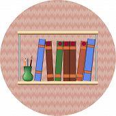 Bookshelf With Books2