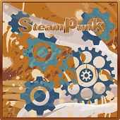 Steampunk Industrial Pattern