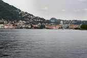 The Lake And The City Of Como