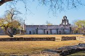 Historic Spanish Mission San Juan Capistrano In San Antonio, Texas