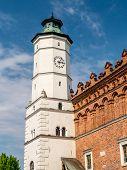 Historical Town Hall of old town Sandomierz, Poland