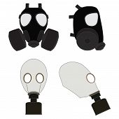 Isolated Gas Masks