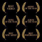 Music Video Awards Categories