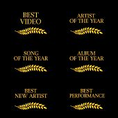 Music Video Awards Categories