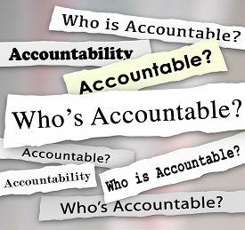 stock photo of take responsibility  - Who - JPG