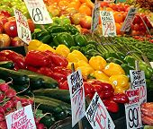 Colorful Produce Market