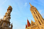picture of hungarian  - Sights and details of historical part of the Hungarian capital - JPG