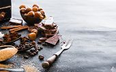 picture of chocolate spoon  - Chocolate - JPG