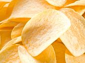 picture of potato chips  - Potato chips - JPG