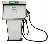 pic of fuel pump  - This is a gas or fuel pump which could show fuel prices amongs others - JPG