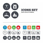 image of barbershop  - Hotel services icons - JPG