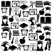 picture of graduation  - Graduation design over white backgrorund - JPG