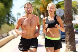 pic of cardio exercise  - Sport people  - JPG