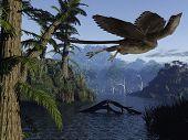 Archaeopteryx - 3D Dinosaur