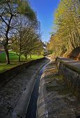 Winding Park Pathway  Luxembourg