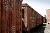 Antique Boxcars