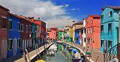 Burano  Island Near Venice
