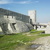 image of former yugoslavia  - old fortress Kalemegdan Belgrade in central Serbia - JPG