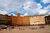 Sunshine over Siena