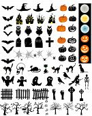 Постер, плакат: Halloween Elements Set