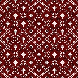 picture of celtic  - Red and White Celtic Cross Symbol Tile Pattern Repeat Background that is seamless and repeats - JPG