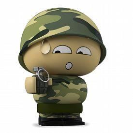 picture of grenades  - 3D Cartoon character - JPG