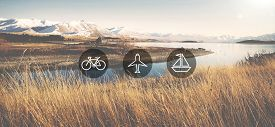 image of transportation icons  - Transportation Transport Icon Travel Trip Concept - JPG