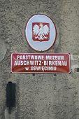 Auschwitz - Signboard