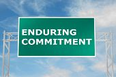 Enduring Commitment Concept poster