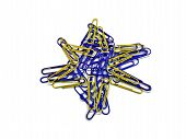 Paper Clip Star of David