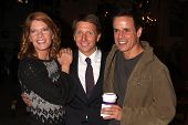 LOS ANGELES - MAY 17:  Michelle Stafford, Bill Bell, Christian LeBlanc at the Bold & Beautiful Celeb