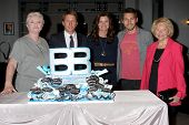 LOS ANGELES - MAY 17: Susan Flannery, Brad Bell, Heather Tom, Scot Clifton, Lee Bell at the Bold & B