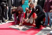 LOS ANGELES - MAY 19:  Chaka Kahn, Stevie Wonder at the Chaka Kahn Hollywood Walk of Fame Star Cerem