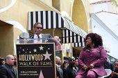 LOS ANGELES - MAY 19:  Benny Medina, Chaka Kahn at the Chaka Kahn Hollywood Walk of Fame Star Ceremony at Hollywood Blvd on May 19, 2011 in Los Angeles, CA.