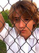 Teen Boy Feeling Upset
