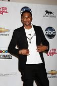 LAS VEGAS - 22 de maio: Trey Songz na sala de imprensa do 2011 Billboard Music Awards no MGM Grand Ga