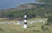 Aerial View Of Bodie Island Lighthouse, Nc