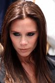 LOS ANGELES - MAY 23:  Victoria Beckham at the Simon Fuller Hollywood Walk Of Fame Star Ceremony at